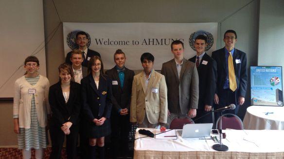 AHMUNC 2013 Delegation